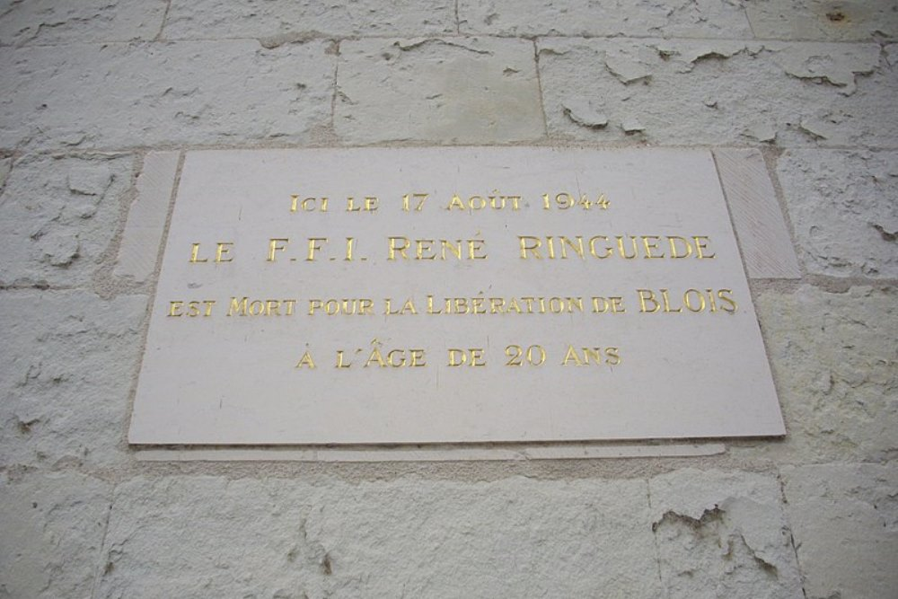 Plaque René Ringuede