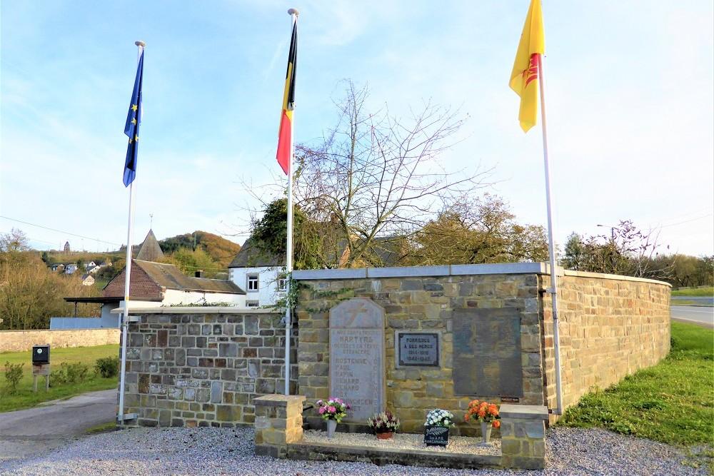 Memorial Forrières