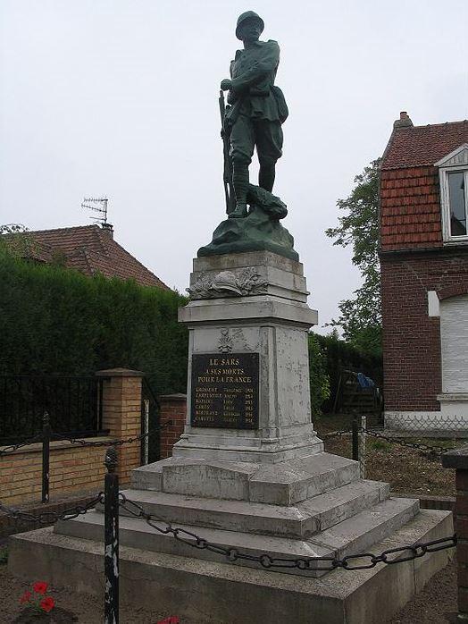 World War I Memorial Le Sars