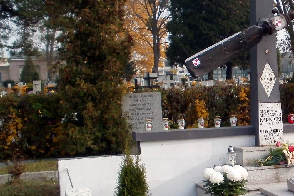 Symbolische Massagraf Poolse Verzetslieden