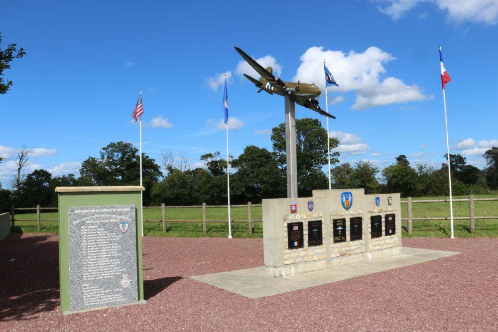 Monument 82nd en 101st Airborne Division