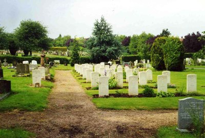 Commonwealth War Graves Hereford Cemetery