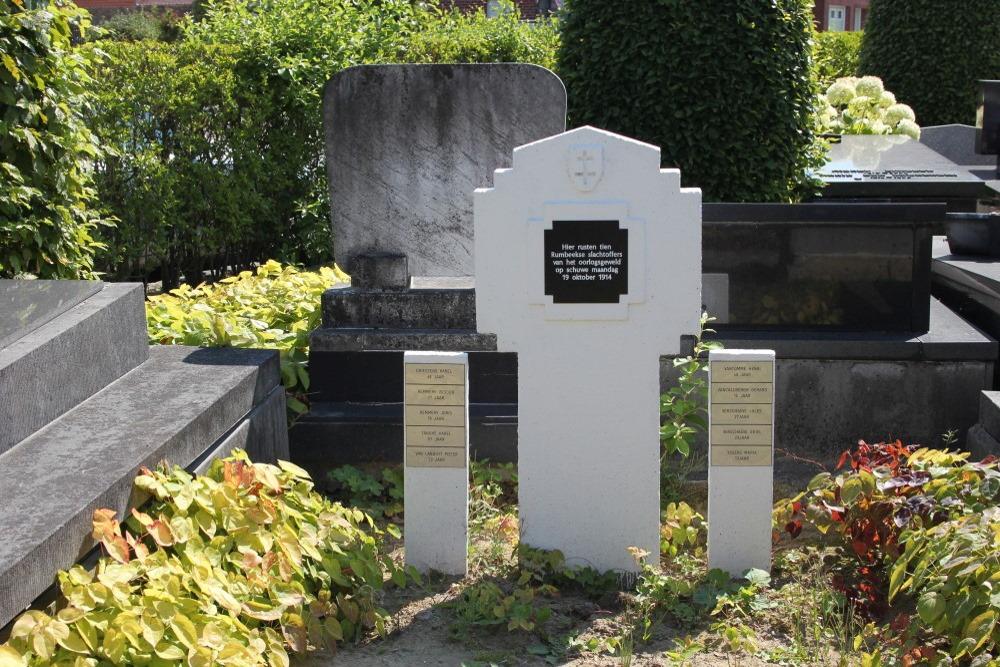 Collective Grave Civilian Victims Rumbeke