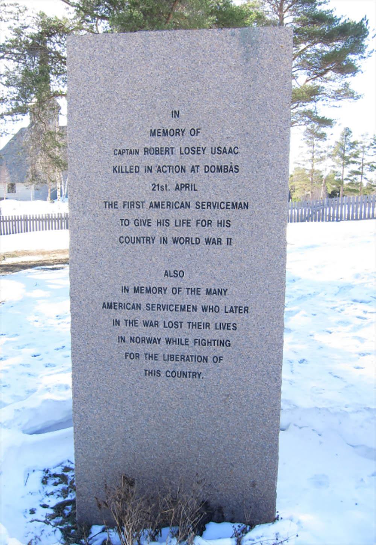 Monument Captain Robert Losey