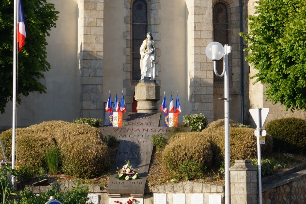 War Memorial Venansault