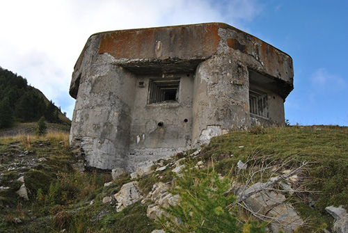 Maginotlinie - Fort Baisse de St Véran