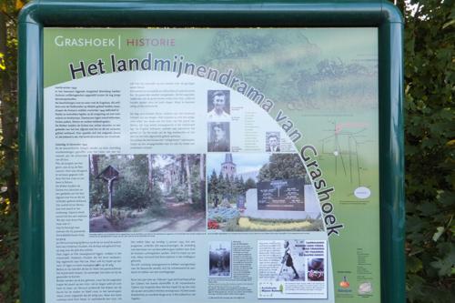 Memorial The landmines disaster of Grashoek