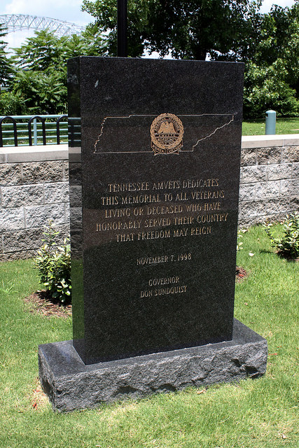 Monument Tennessee AMVETS