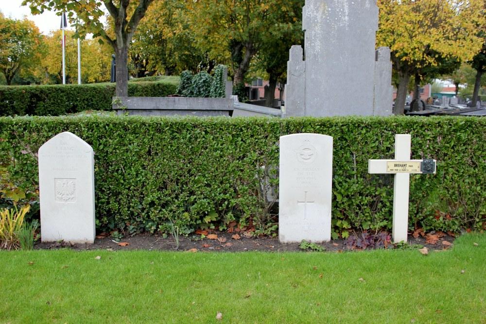 Pools Oorlogsgraf Begraafplaats Blankenberge