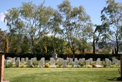 Commonwealth War Graves Cornelian Bay Public Cemetery