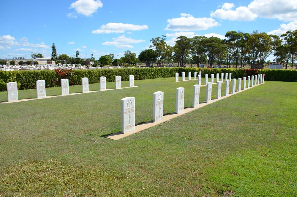 Commonwealth War Graves Bundaberg General Cemetery