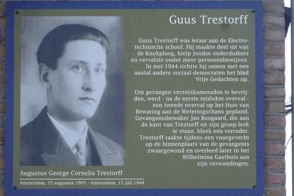 Memorial Plates Slotermeer Guus Trestorffstraat