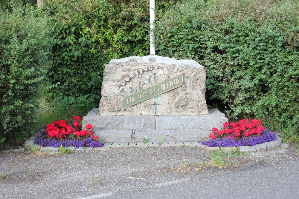 Memorial Fort Pontisse