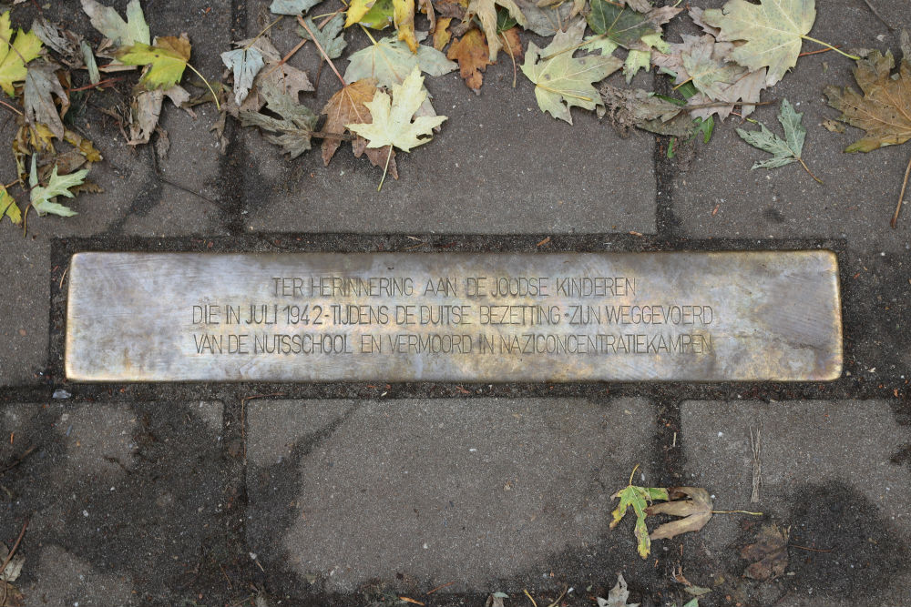 Stolperstein Van der Does de Willeboissingel 14