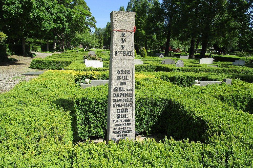 Dutch War Graves Oud Charlois