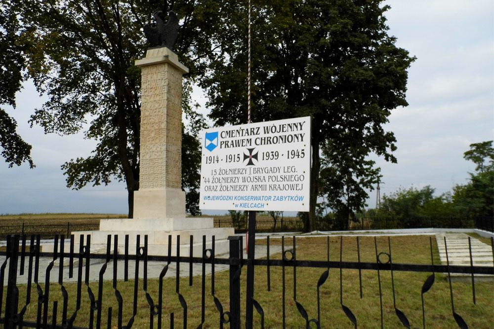 Poolse Oorlogsbegraafplaats Żukowice