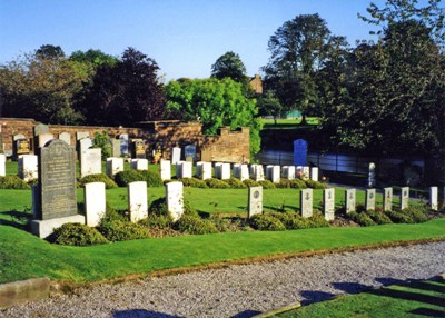 Commonwealth War Graves Troqueer New Burial Ground