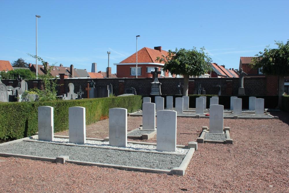 Commonwealth War Graves Oudenaarde