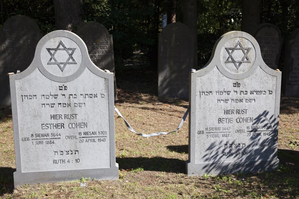 Joodse Oorlogsgraven Nieuwe Joodse Begraafplaats Wageningen