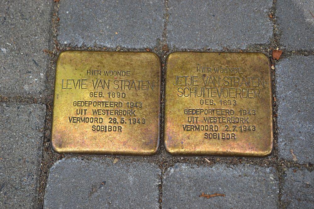 Stolpersteine Bodemanstraat 6 Hilversum