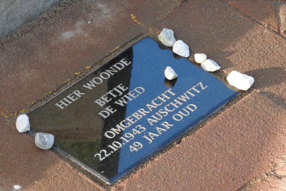 Memorial Stone Beekstraat 17
