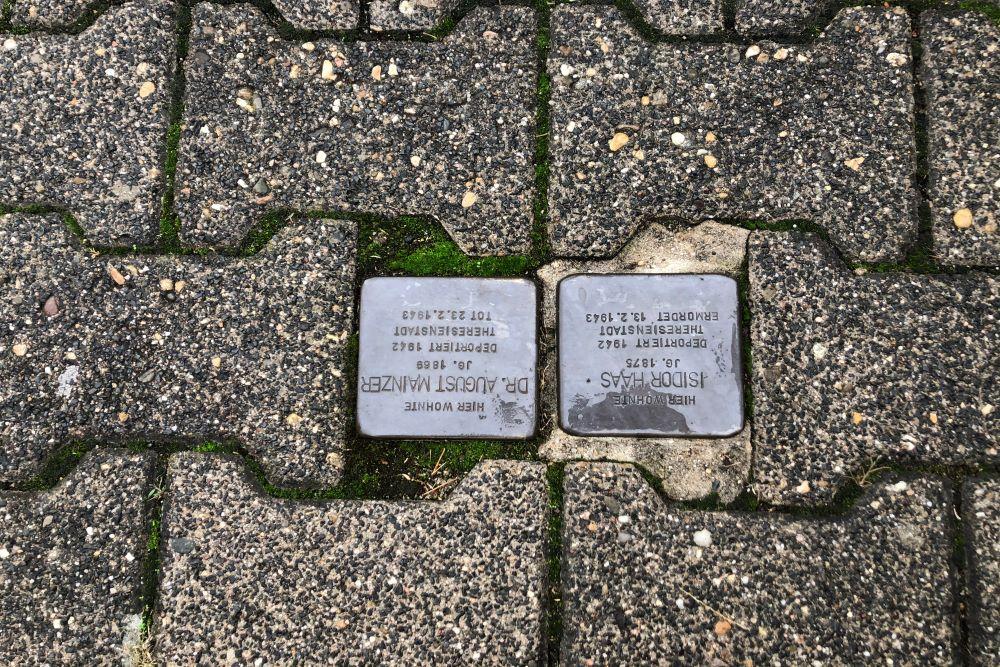 Stumbling Stones Mainzer Straße 60