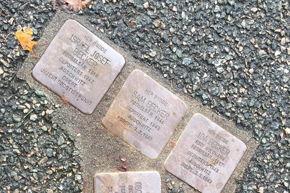 Stumbling Stones Welhavens Gate 36