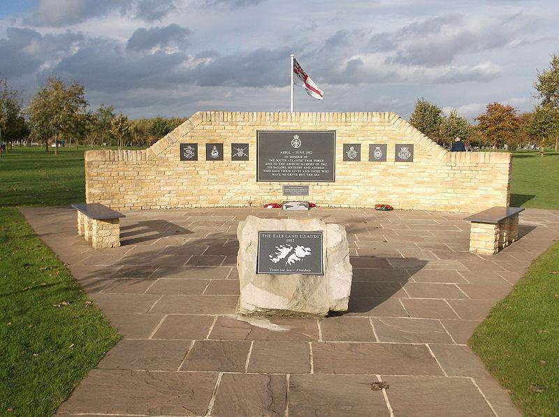 Herdenkingstuin Falklandoorlog