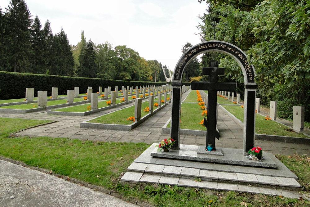 Sovjet Oorlogsgraven Centrale Begraafplaats Szczecin