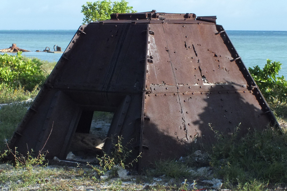 Japanese Pillbox Command Post