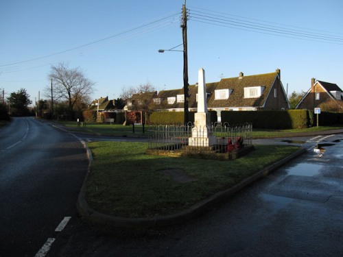 War Memorial Worlington