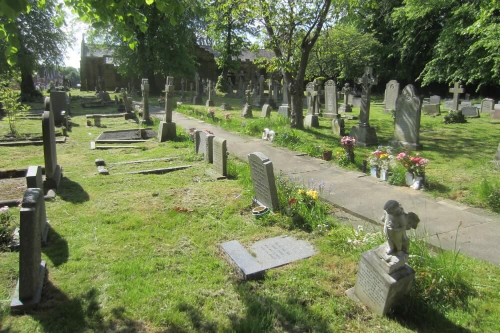 Oorlogsgraven van het Gemenebest St. Cuthbert Marton in Cleveland