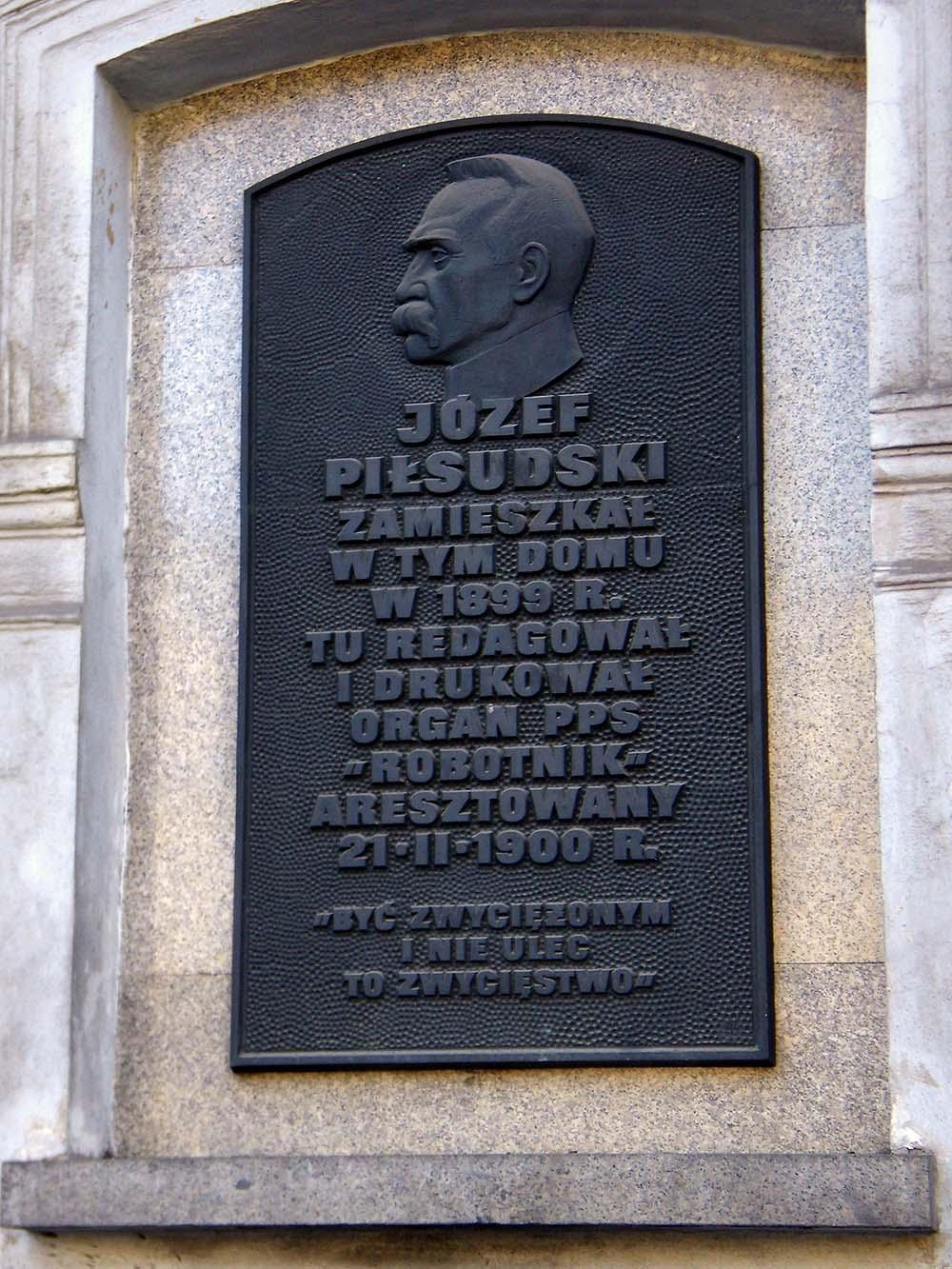 Voormalige Woning Jozef Pilsudski