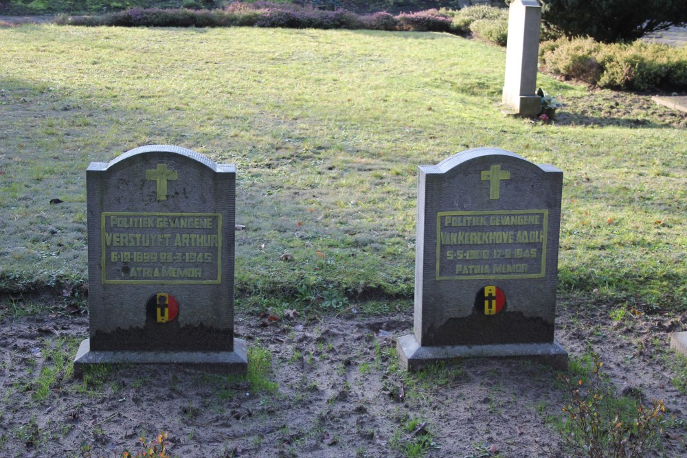 Remembrance Stones Political Prisoners Wetteren