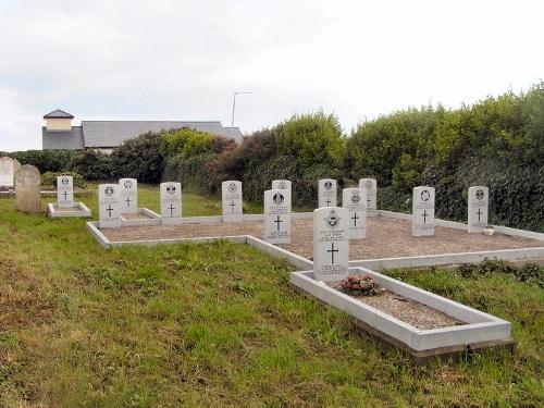 Commonwealth War Graves Kilcommon Erris Church of Ireland Churchyard