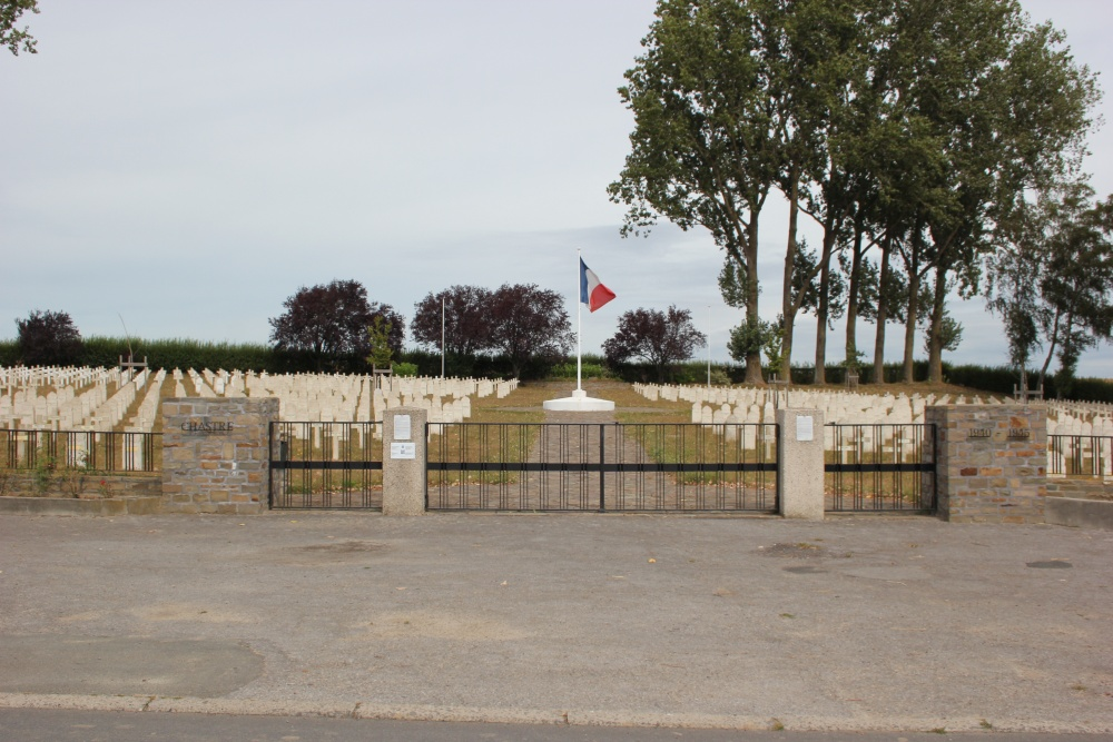 French War Cemetery Chastre