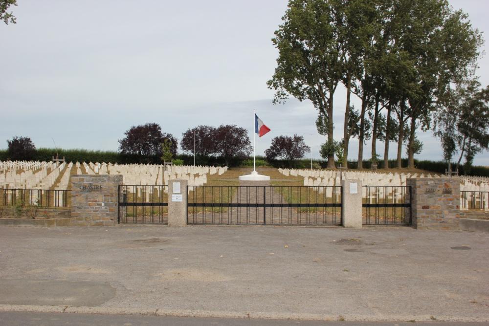 Franse Oorlogsbegraafplaats Chastre