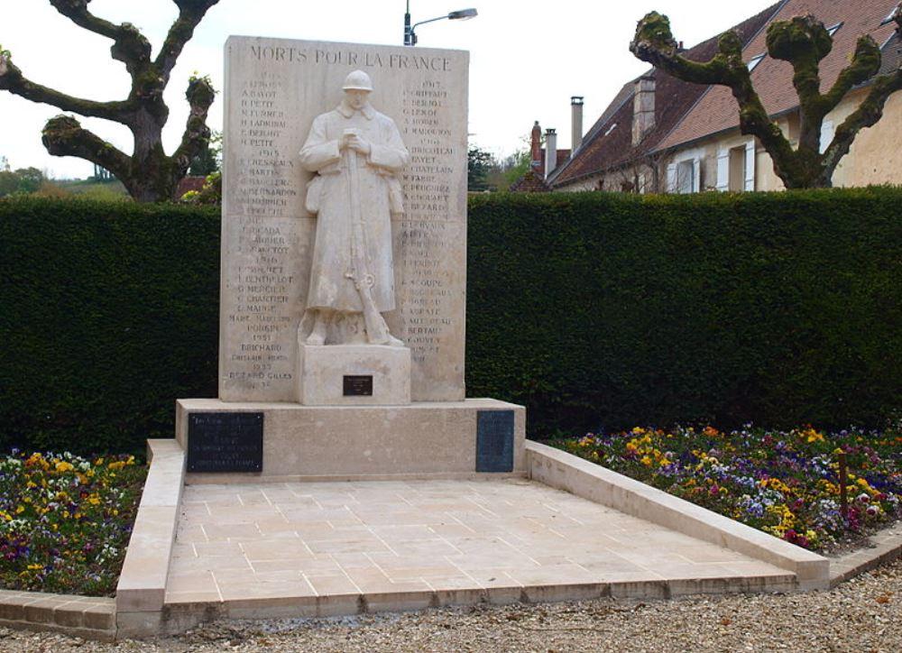 War Memorial Chézy-sur-Marne