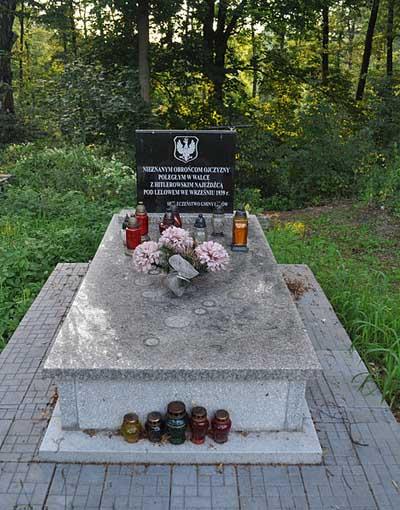 Massagraf Poolse Soldaten Lelów