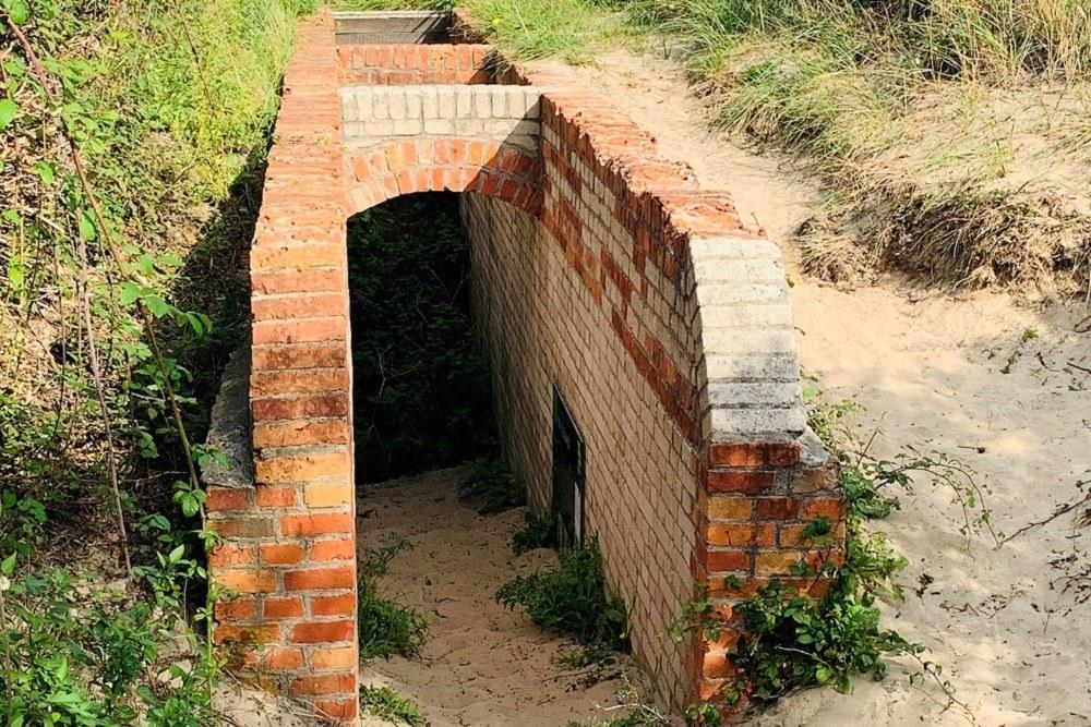 Toilet Bunker Bunker route no. 13 De Punt Ouddorp