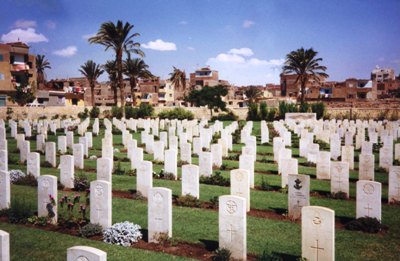 Commonwealth War Cemetery Suez