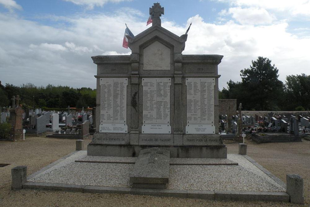 Oorlogsmonument Saint-Hilaire-de-Talmont