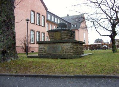 Oorlogsmonument Altes Gymnasium