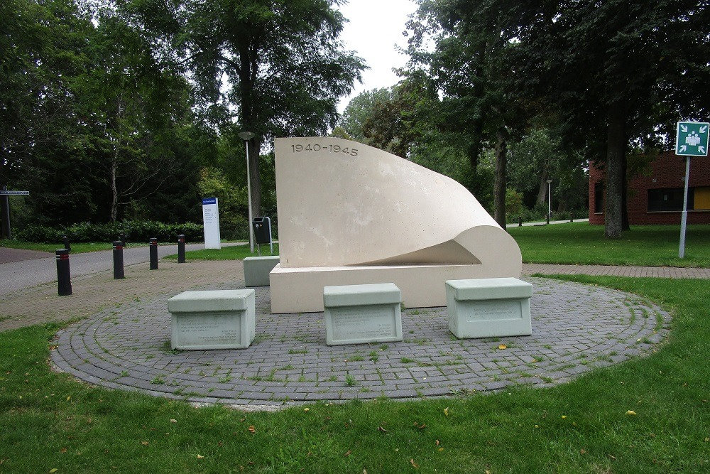 Monument to Jewish patients and people in hiding