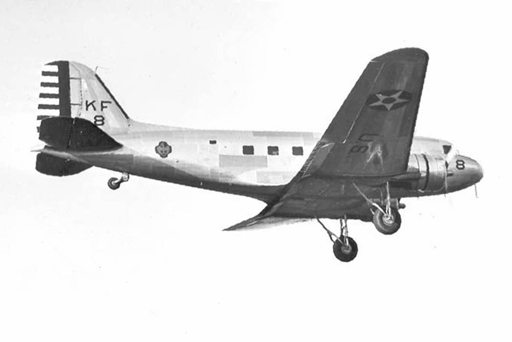 Crash Site Douglas C-39 (DC-2) 38-510