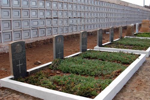 Oorlogsgraven van het Gemenebest Mindelo