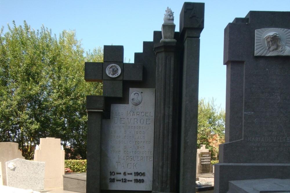 Belgische Oorlogsgraven Kemmel