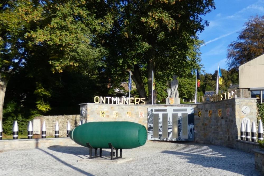 Monument Belgische Ontmijningstroepen
