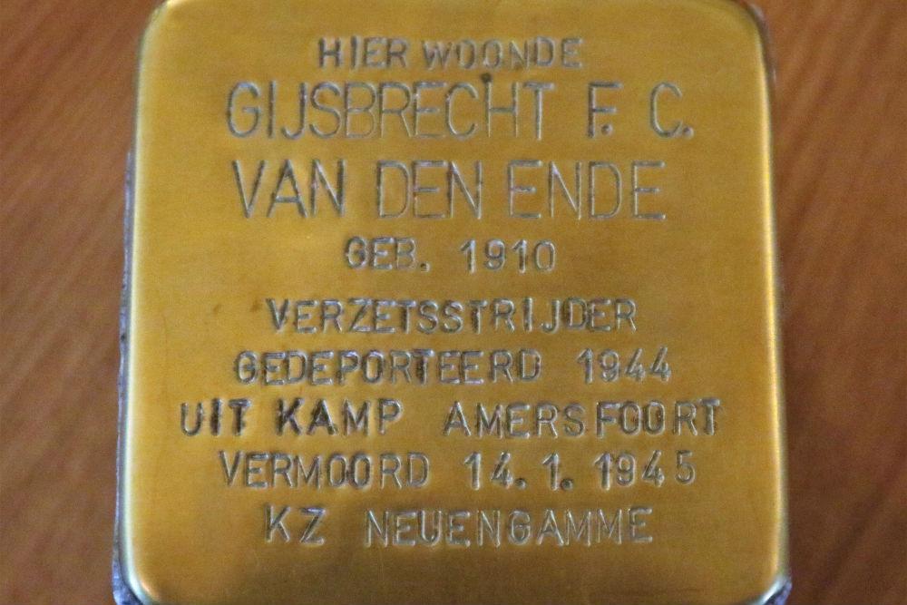 Stolperstein Van Deldensweg 9