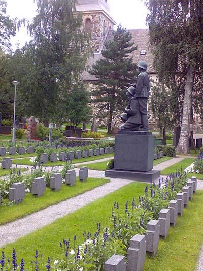 Finse Oorlogsgraven Kangasala